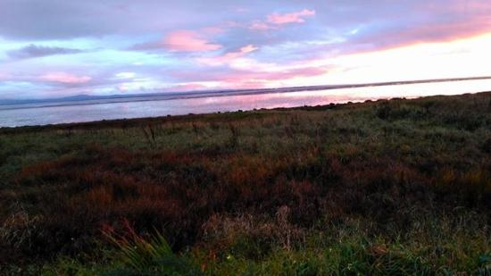 Powfoot, UK: The view from our van