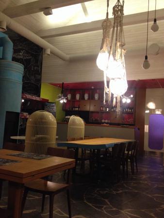 Ресторан с претензией на высокую кухню