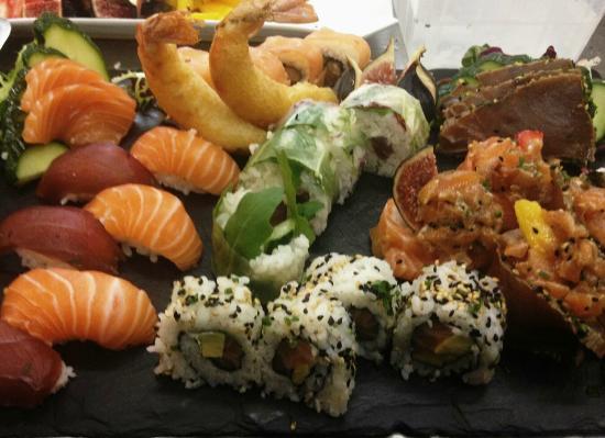 Saleilles, Francia: Sushis