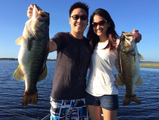 Our catch picture of fish orlando trophy bass guide for Bass fishing orlando