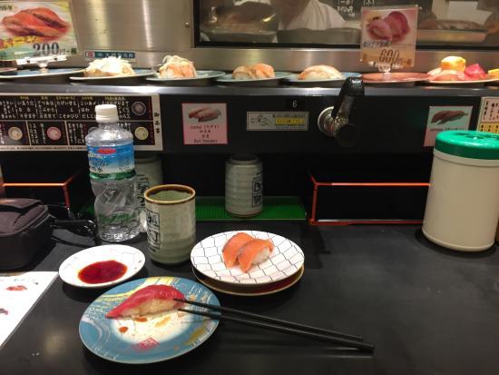 sushi go around