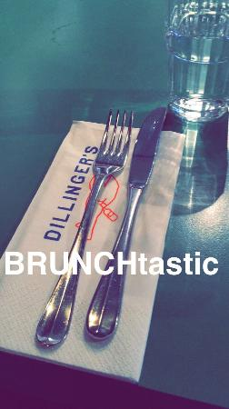 Dillingers : A fantastic brunch yesterday. Amazing service and delicious food. A huge thanks to Charlie and t