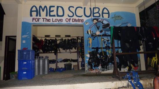 Amed Scuba Tauchzentrum: Das Center