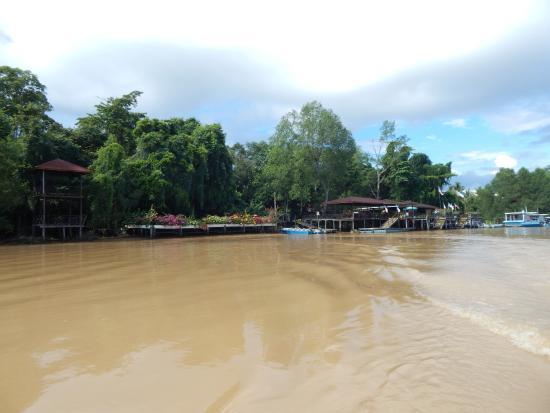 Abai Jungle Lodge: front view of the Jungle Lodge