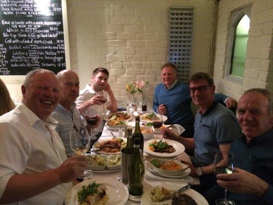 Bolton, UK: Festo team meal