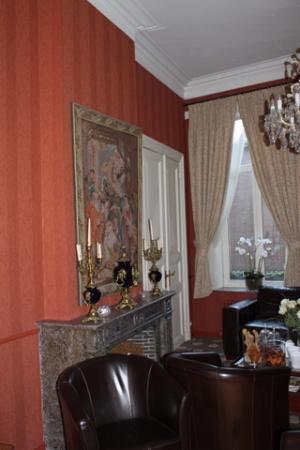 Hotel Groeninghe: Aufenthaltsraum