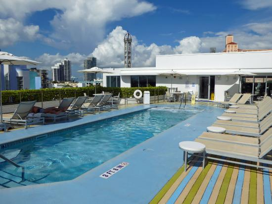 The Hotel Of South Beach Pool On Roof
