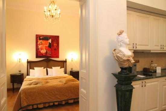 St. George Residence: Silver Suite, Bedroom