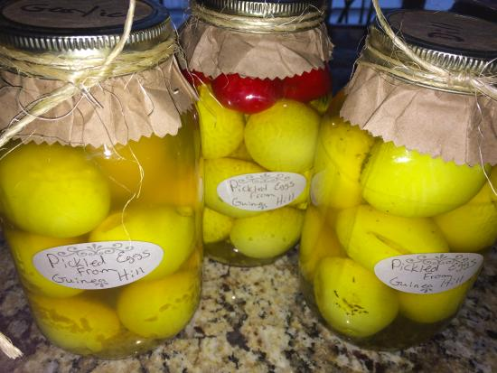 Mound City, MO: Pickled Eggs to go