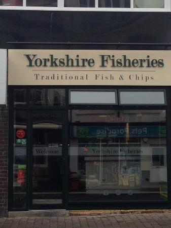 Yorkshire Fisheries : Our new look shop front