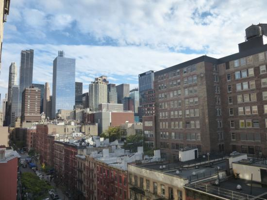 view from 8th floor tower b south side picture of the watson hotel new york city tripadvisor. Black Bedroom Furniture Sets. Home Design Ideas