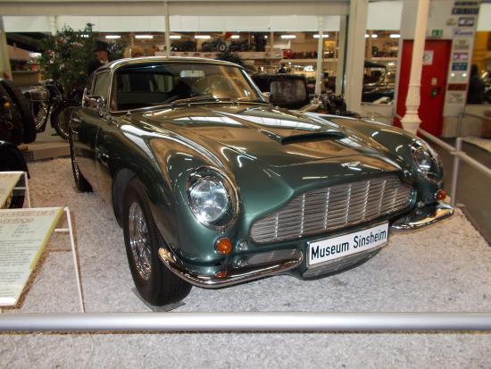 Aston Martin Db6 Bild Von Sinsheim Auto Technik Museum Sinsheim Tripadvisor