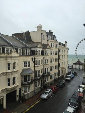 Brightonwave: View from friend's room.