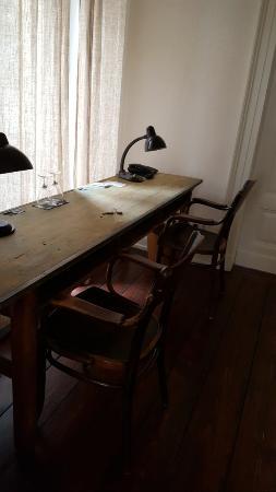 Hotel Miraflores: Office-Bereich mit Blick ins Grüne