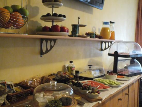 Hotel Eigelstein: buffet della prima colazione