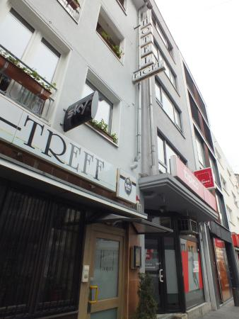 Hotel Eigelstein: ingresso dell hotel
