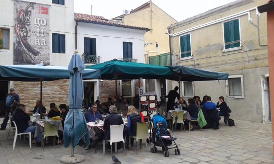 B Restaurant alla Vecchia Pescheria: Общий вид