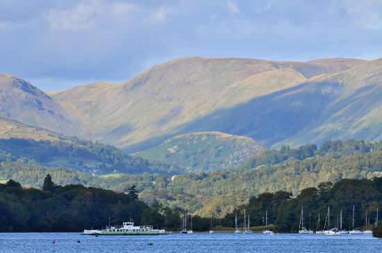 Bowness-on-Windermere, UK: Panoramic views
