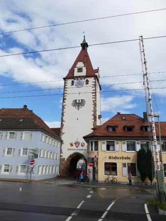the main gate on the southwest end of Gengenbach