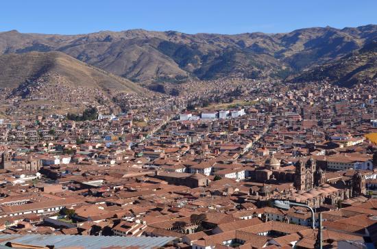 Sunset Hostel Cusco - Backpackers: Vista desde el hostel