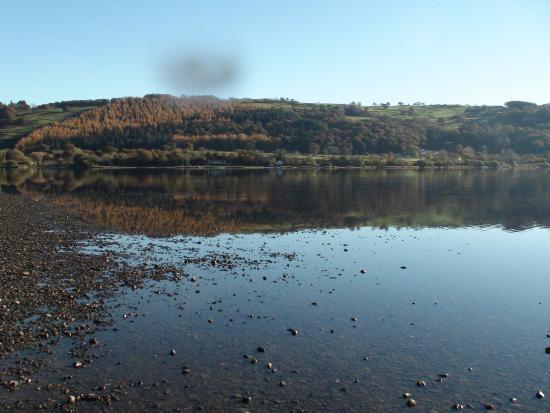 Capel Curig, UK: Bala lake