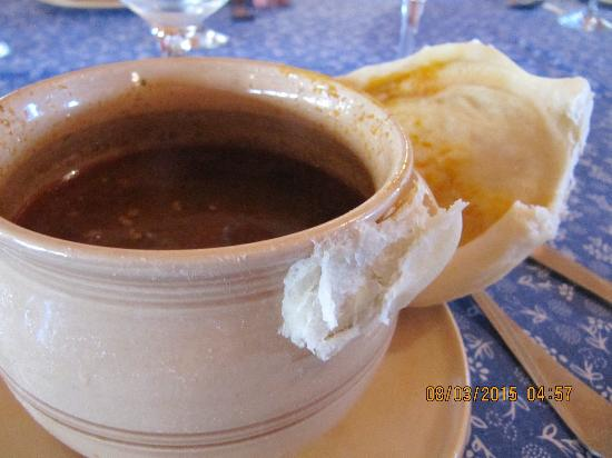 Brno, República Tcheca: onion soup
