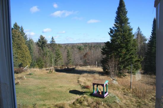 Denbigh, Kanada: view from South Room