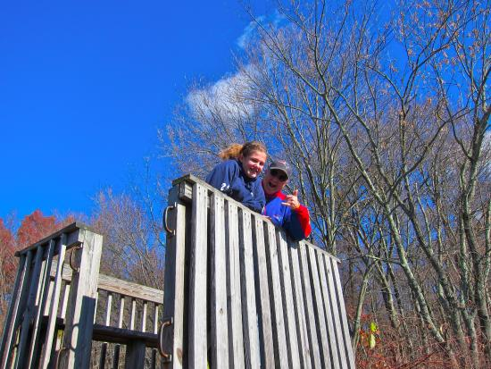 Allendale, NJ: observation deck