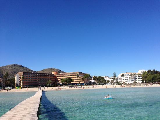 Sol Alcudia Center Apartamentos: Playa de Alcudia, punto más cercano al apartahotel