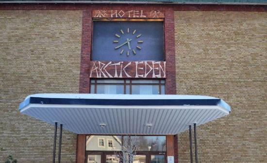 Hotel Arctic Eden : entree van het hotel