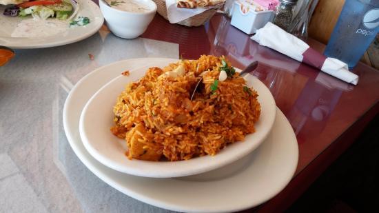 Everest Indian Cuisine: Chicken Biryani