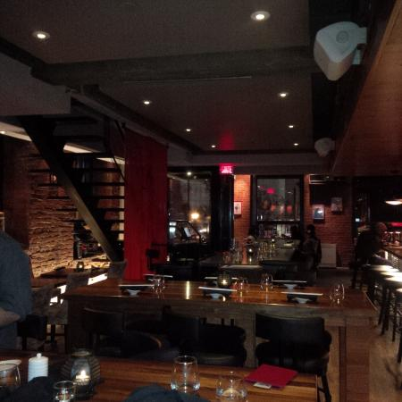 Decor picture of kyo bar japonais montreal tripadvisor for Aix cuisine du terroir montreal