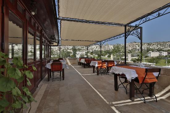 Heybe Hotel: Teras / Veranda