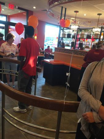 Walker, MI: Inside by cash registers