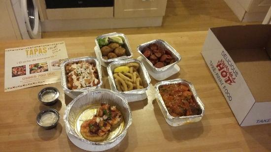 Tapas Delivery