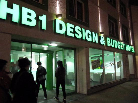 Bild von hb1 design budget hotel wien for Budget design hotel