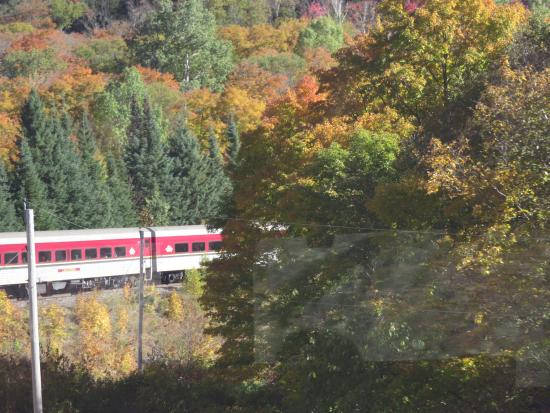 Agawa Canyon Tour Train Fall 2015