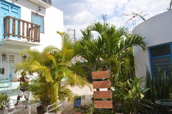 Hostal del Fraile: hotel grounds
