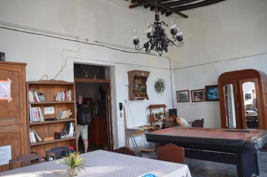 Hostal del Fraile: lounge