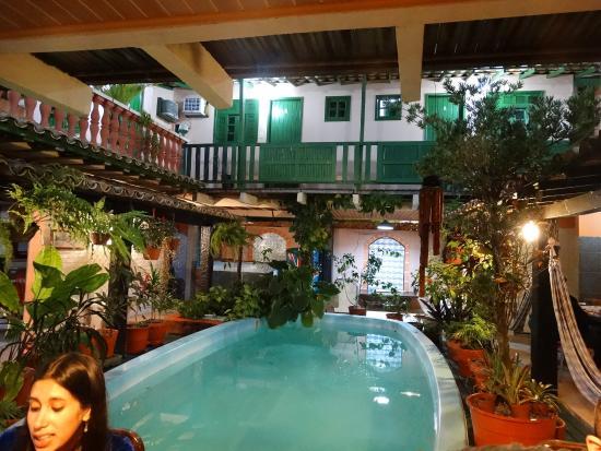 Hostel Villas Boas: Piscina