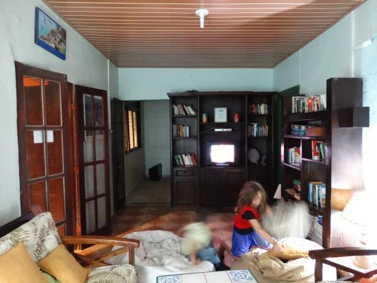 Hostel Villas Boas: área comum