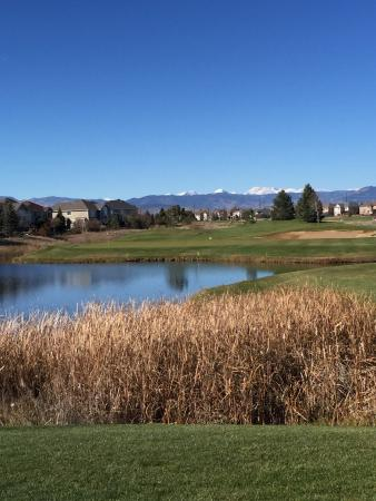 Ute Creek Golf Course, Longmont, Co: #8 par 3 from the tips