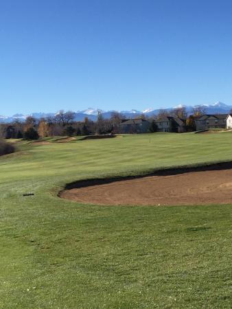 Ute Creek Golf Course, Longmont, Co: Great views