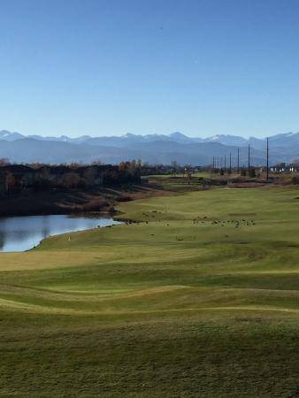 Ute Creek Golf Course, Longmont, Co : #18 incredible finishing hole