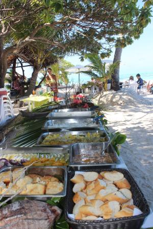 Pension Hibiscus Tahaa: Ma'a Tahiti sur le motu
