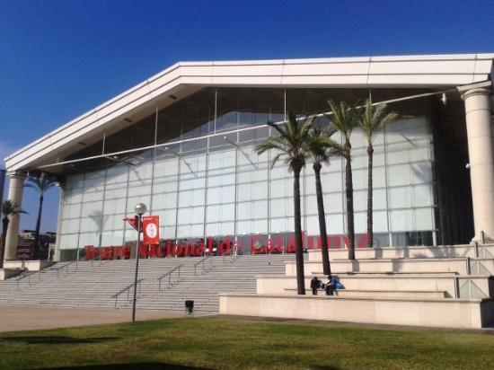 Teatre Nacional de Catalunya - TNC : Vista exterior