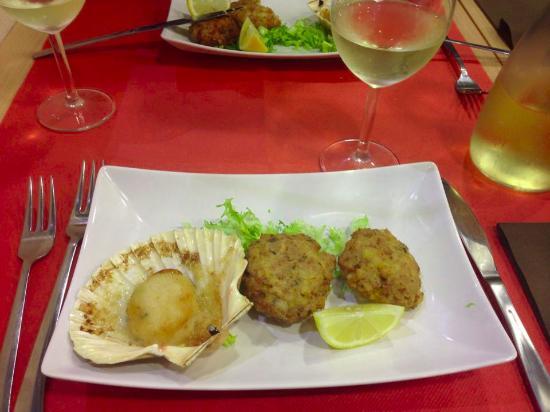 Medaglioni di pesce capasanta foto di il mare in - Il mare in tavola ...