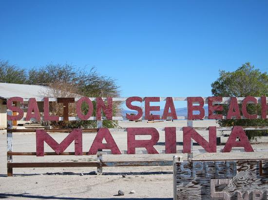 Salton Sea Beach Marina Picture Of