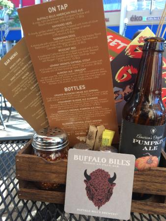 Buffalo Bills: Great on tap house made beers and some guest brewery choices too.