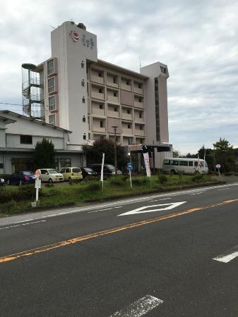 Aoshima Suikoen Hotel : 全貌